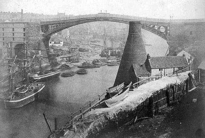 Wearmouth Bridge and Bottleworks