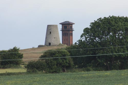 Cleadon Mill and Water Tower