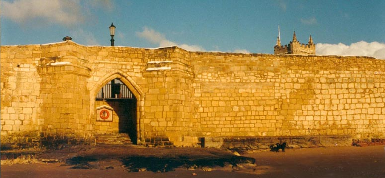 Hartlepool Town Wall