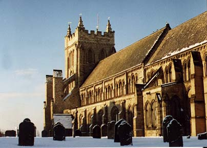 St. Hilda's church, Hartlepool photograph David Simpson