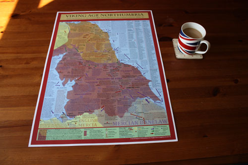 Viking Age Northumbria Map