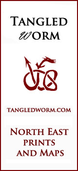 Tangled Worm Poster Prints