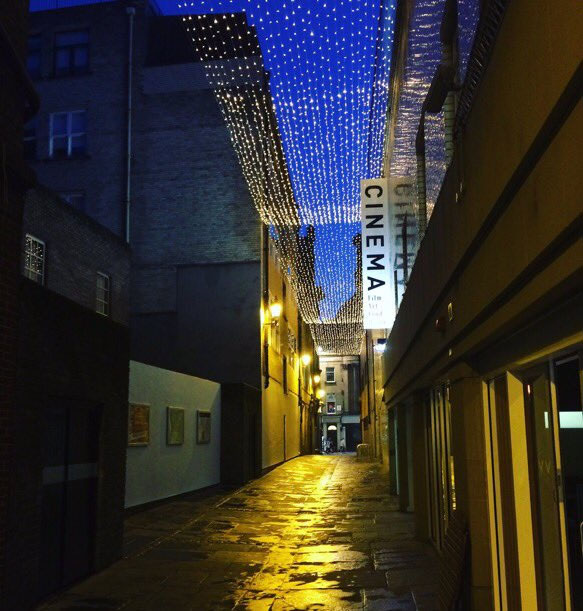 Canopy of Lights in High Friars Lane