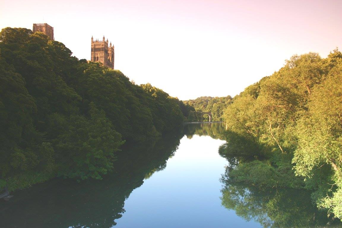 Durham City lies on the dividing line between becks and burns in the naming of streams across England. Photo: David Simpson