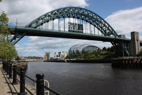 The Tyne at Newcastle Photo: David Simpson