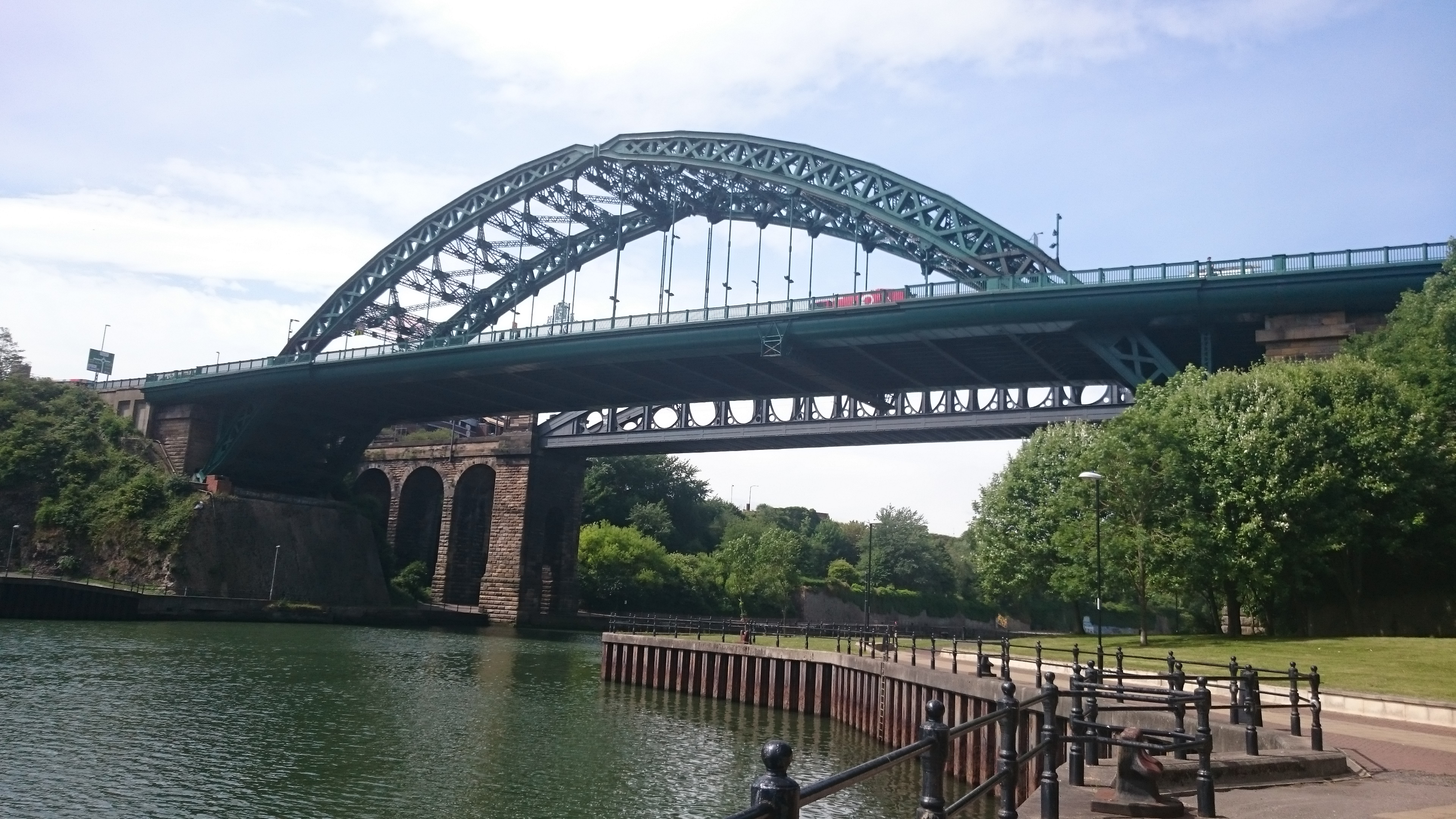 The Wearmouth Bridge, Sunderland