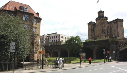 Newcastle Castle Blackgate and Keep