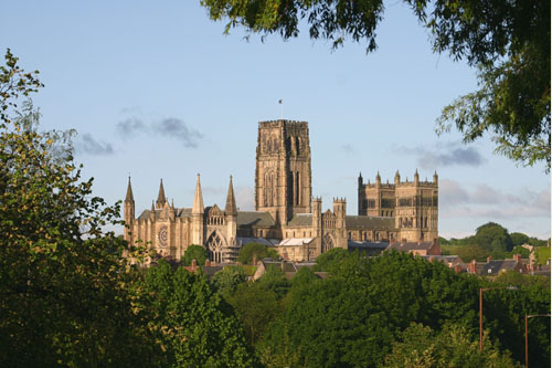 Durham Cathedral viewed from Gilesgate