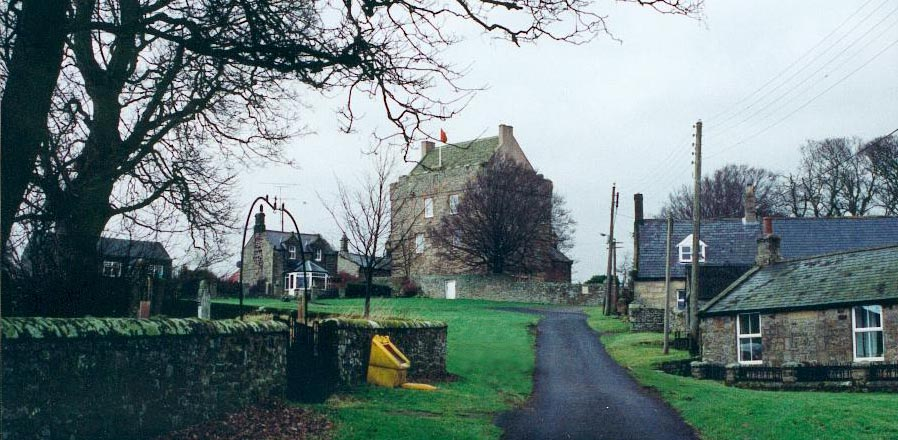 Elsdon in Redesdale in Northumberland