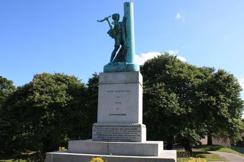 Jack Crawford Monument Sunderland