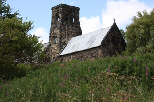 Jarrow church from the Don