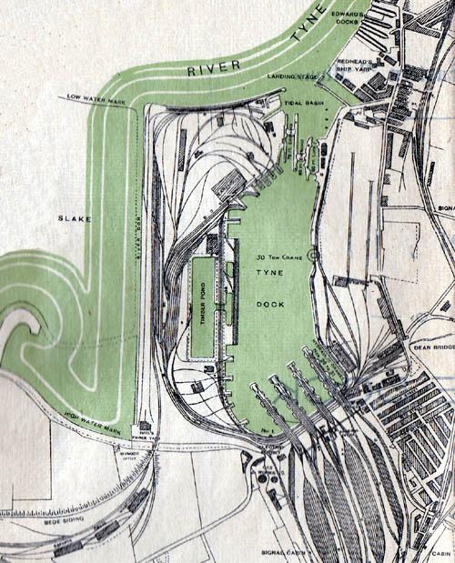 Plan of Tyne Dock