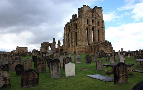 Tynemouth Priory Graves