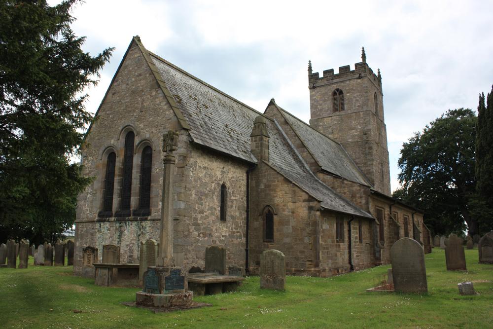 Aycliffe church.