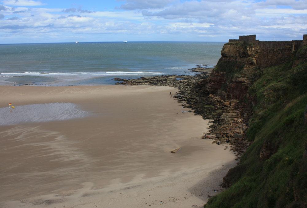 Beach at Tynemouth