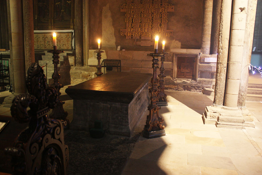 Bede's Tomb, Durham Cathedral