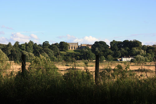 Bishop Auckland from across the river