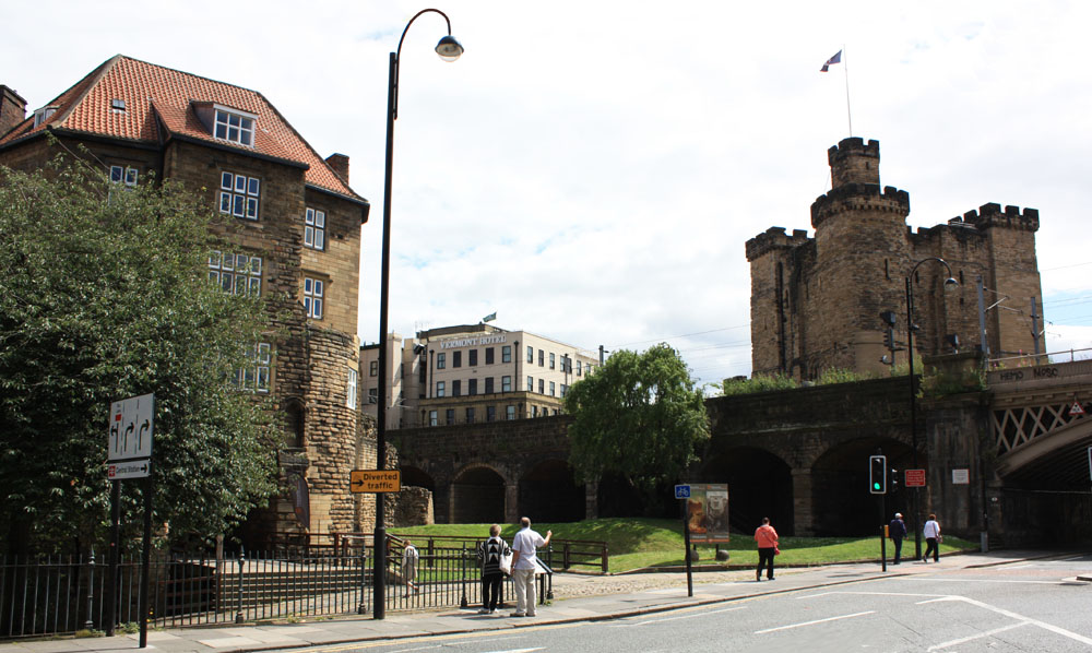 The Blackgate and Castle keep