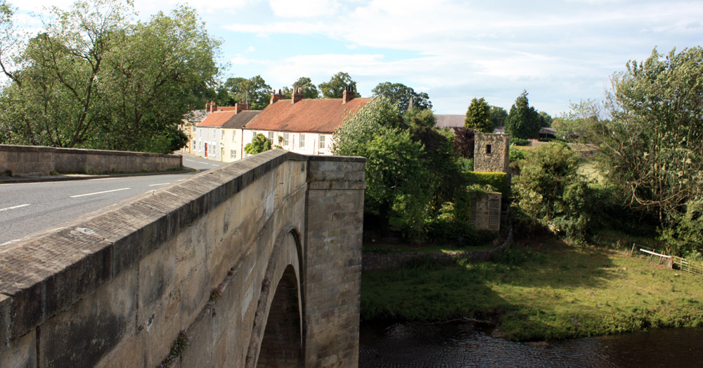 The bridge at Piercebridge.