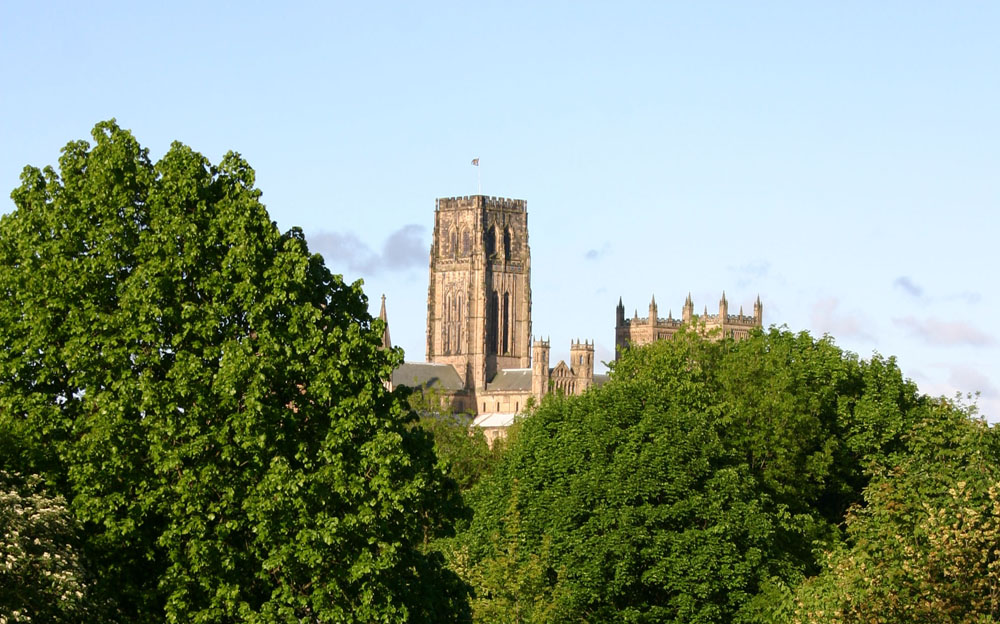 Durham Cathedral from Gilesgate