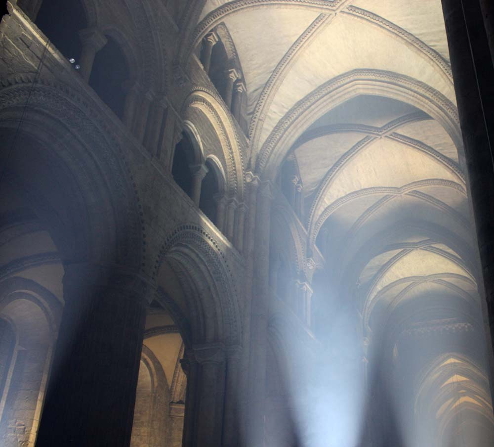 Ribbed vaulting Durham Cathedral