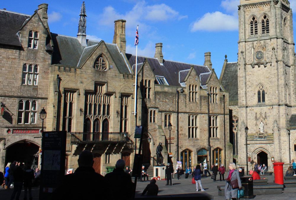 Durham Market, Guildhall, Town Hall