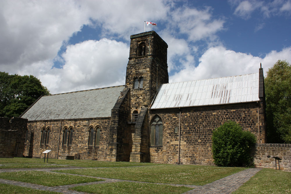 Church of St Paul at Jarrow, nave on the left