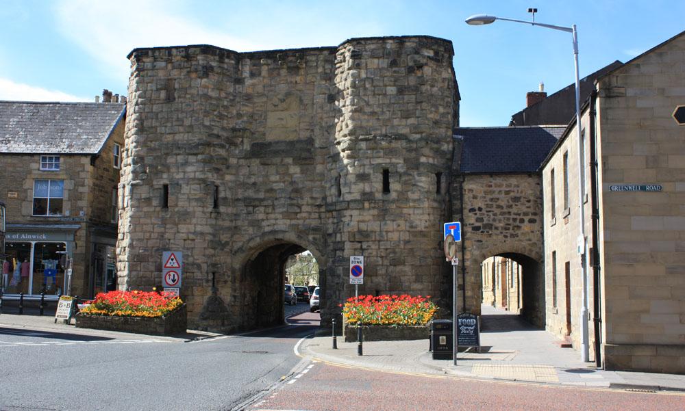 The Hotspur gate, Alnwick