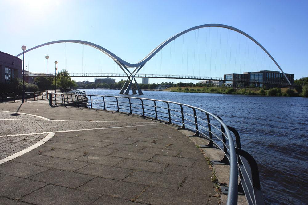 Infinity bridge, Stockton.