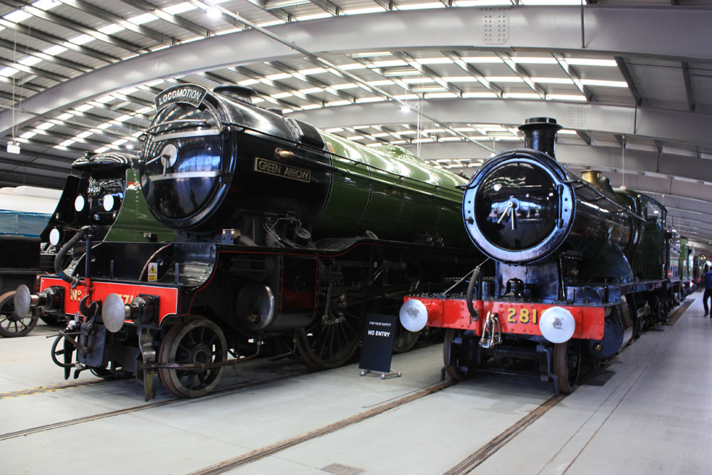 Locomotives at Shildon