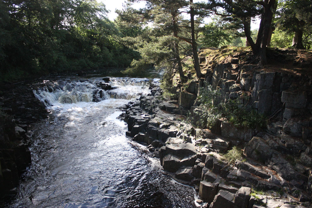 Low Force waterfall, Teesdale.