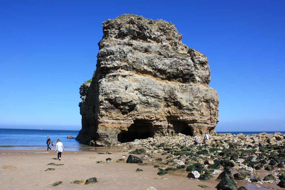 Marsden Rock near South Shields