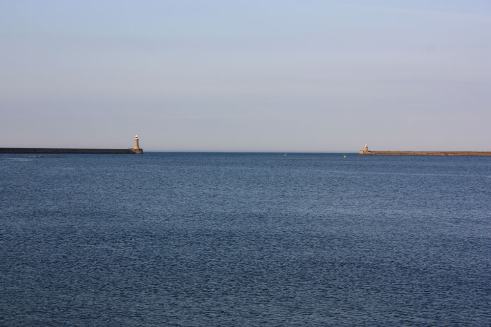 Mouth of the Tyne from North Shields.