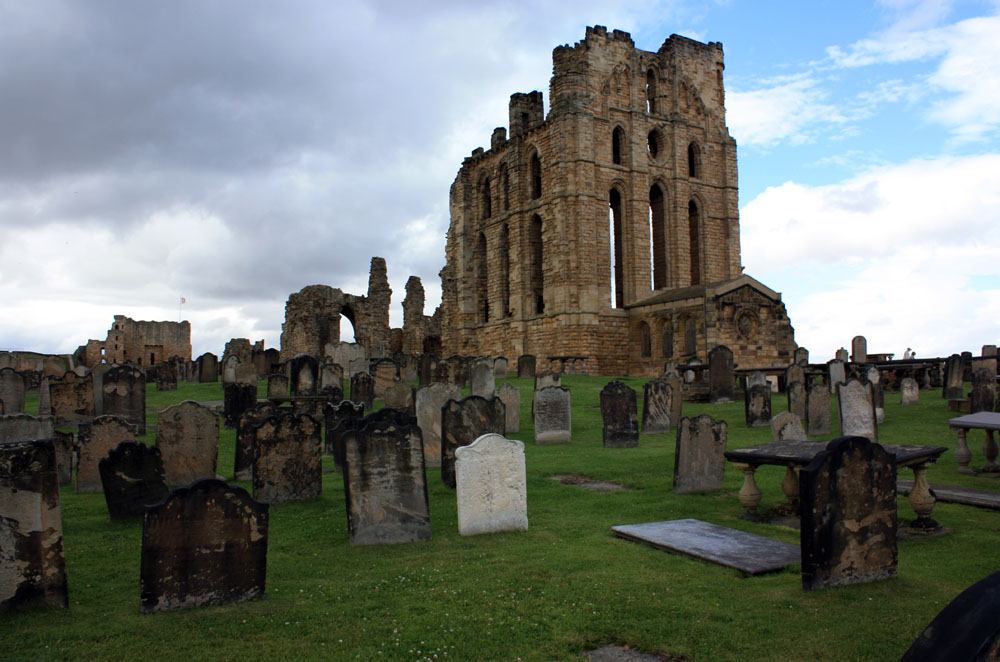Tynemouth Priory and graveyard
