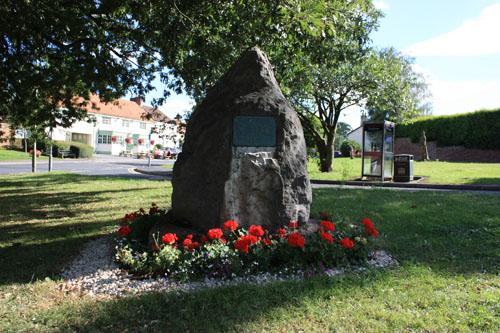 Comemorative stone Sadberge