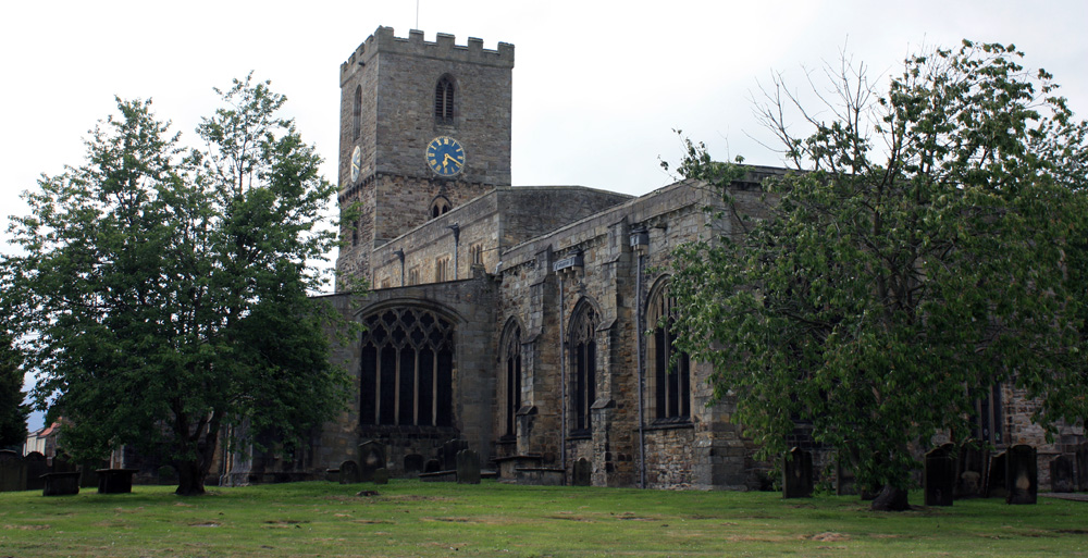 Staindrop church.