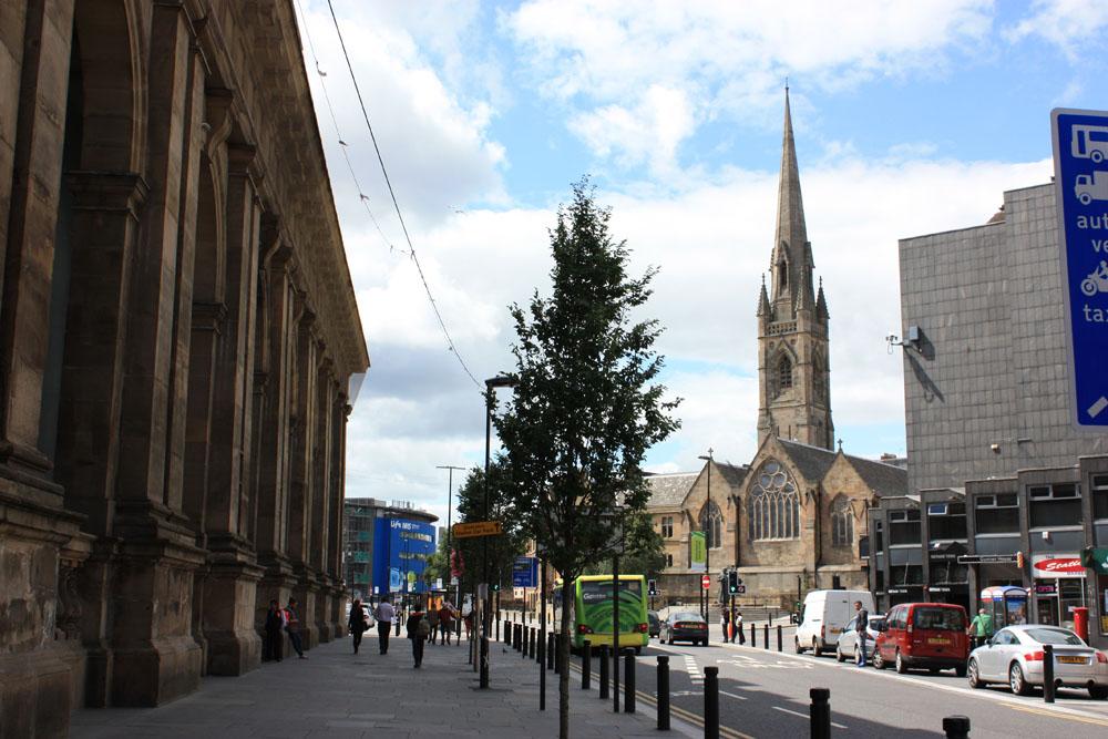 St Mary's Roman Catholic Cathedral Newcastle