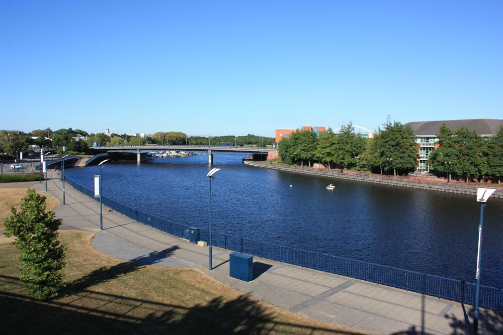 The River Tees at Stockton.