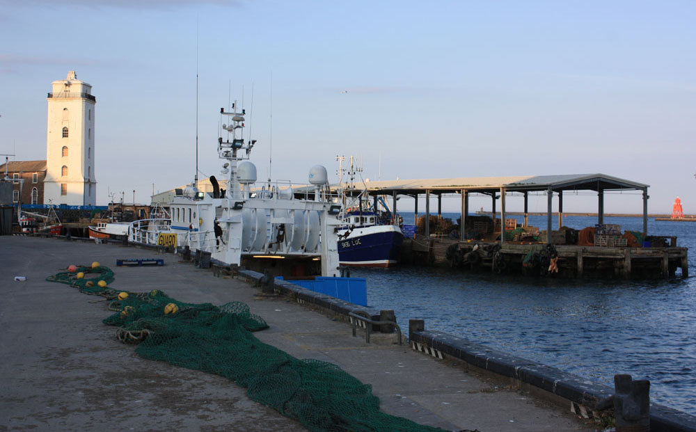 The Fish Quay and new Low Light,