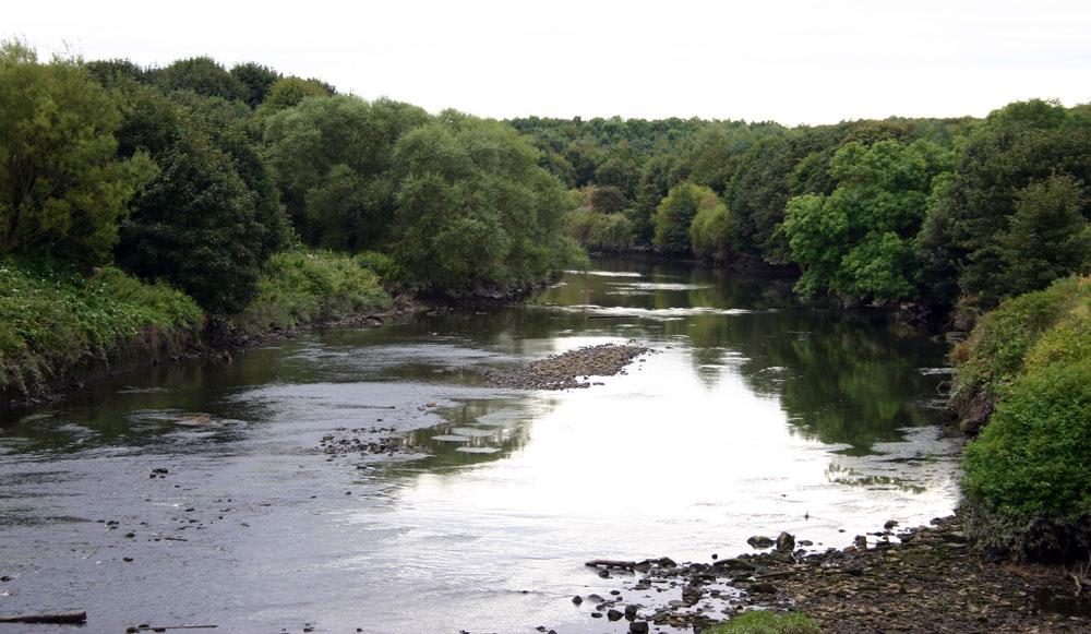 River Wear near Washington
