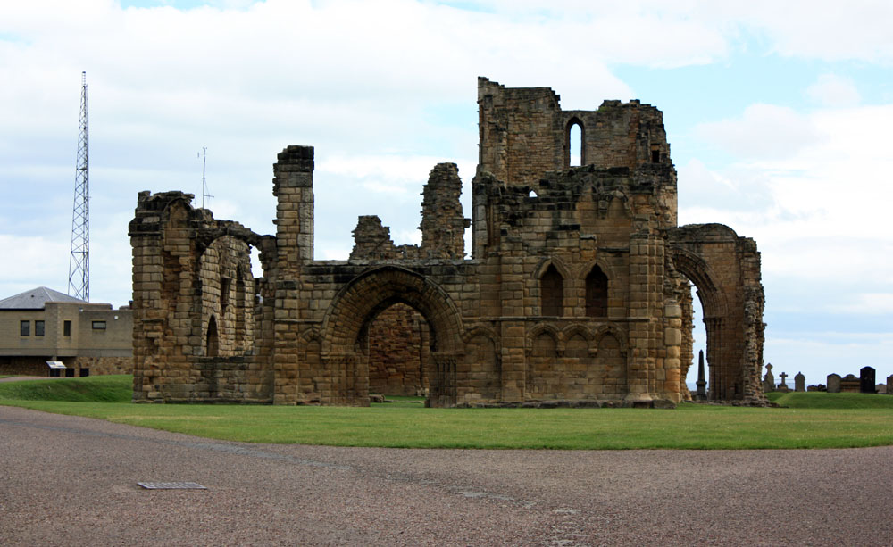 Remains of Norman Priory Church, Tynemouth