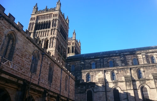Durham Cathedral western towers