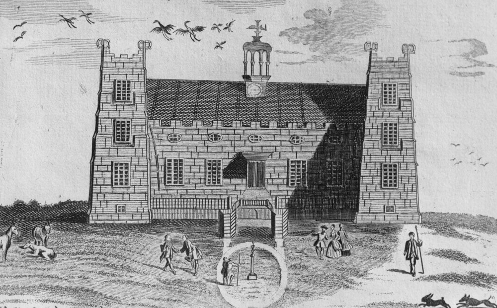 Lumley Castle in the 1700s