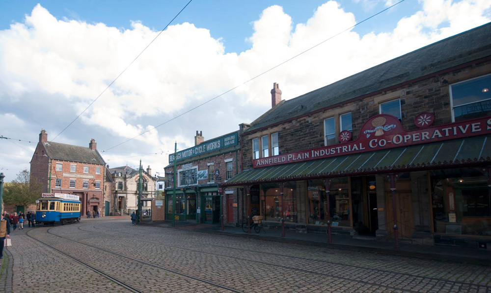 The Annfield Plain Co-op at Beamish Museum