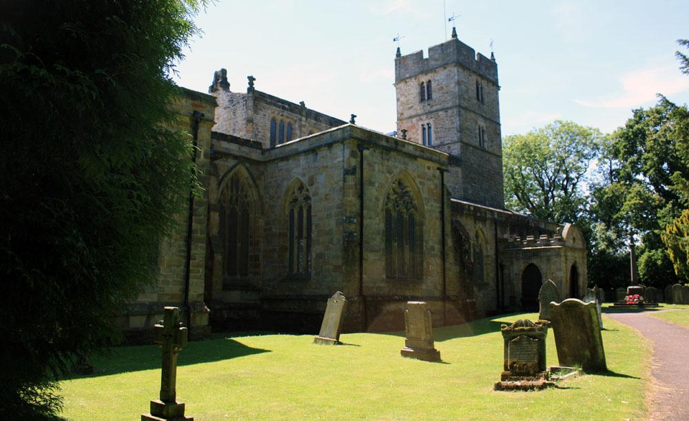 Brancepeth church.