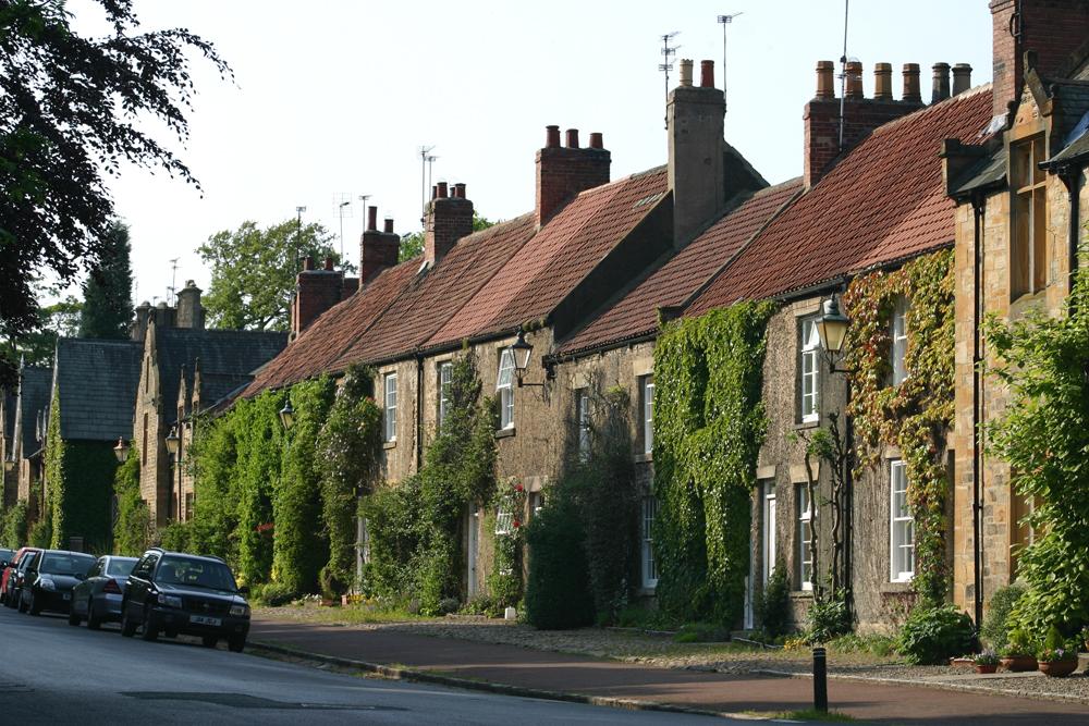 Brancepeth village.