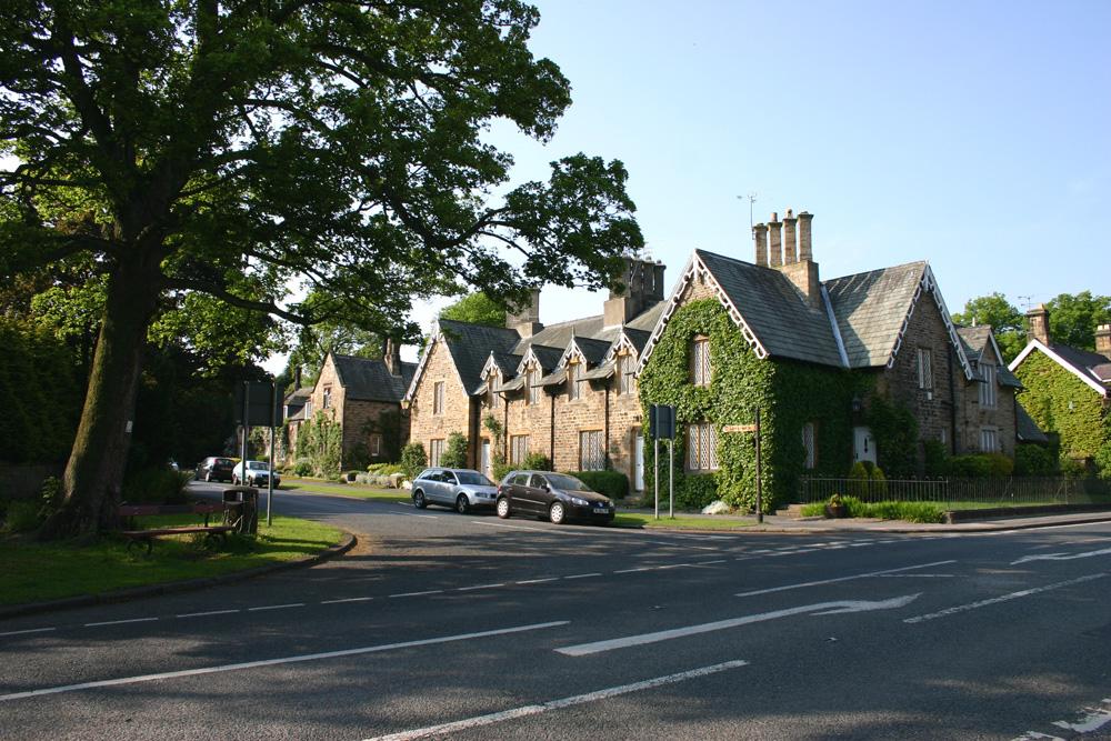 Brancpeeth village south side,