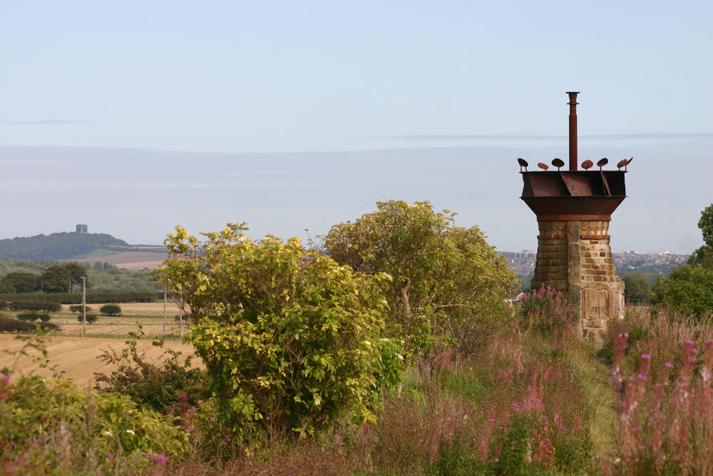 King Coal at Pelton looking towards Penshaw