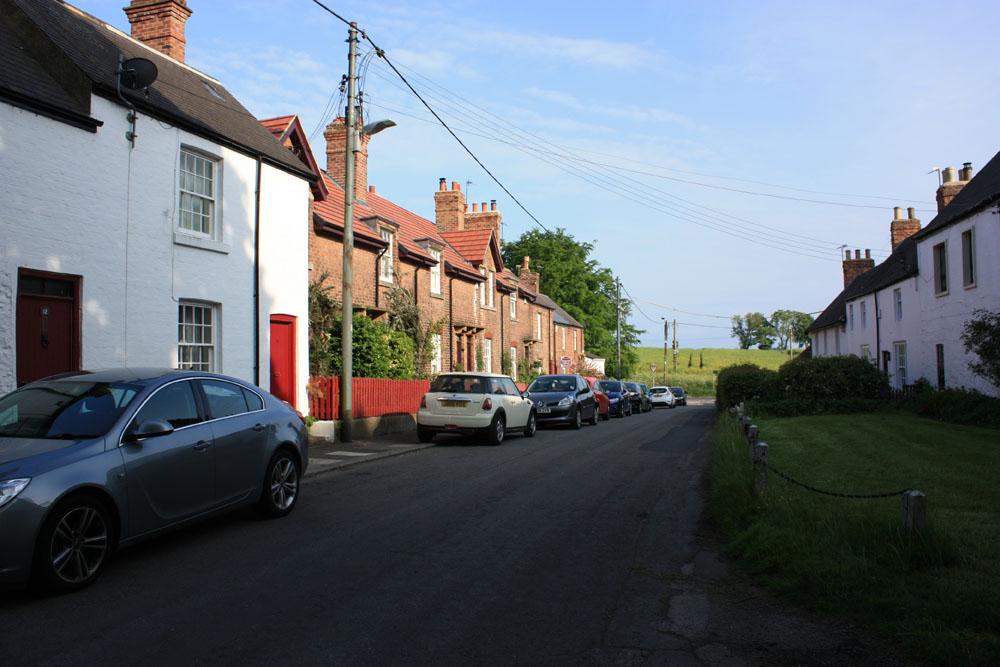 The village, Castle Eden