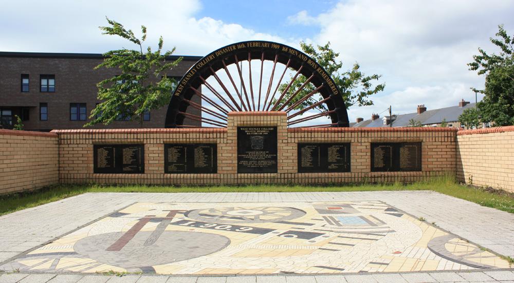 West Stanley memorial